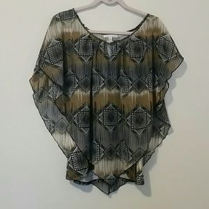 4/$20 printed blouse